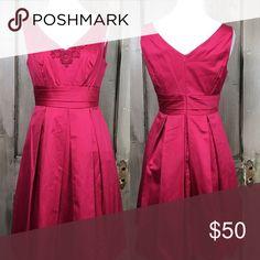 Selling this Fuschia Spring Dress on Poshmark! My username is: victoriamcnealy. #shopmycloset #poshmark #fashion #shopping #style #forsale #David's Bridal #Dresses & Skirts