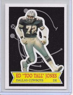 Want To Learn More About Football? Basketball Cards, Football Cards, Football Boys, National Football League, American Football, Dallas Cowboys, Baron, Sports, Hs Sports