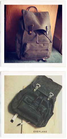 28 January 2013    30 notes        From the People    Two approaches to photographing the Backpack from @Ryguy0830 and @kaylapeee.    Want your photo featured? Use #everlane on Instagram or Twitter.
