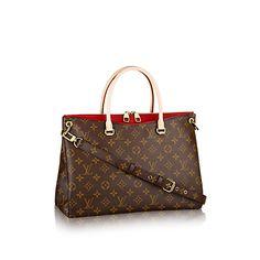 Pallas Monogram Canvas - Handbags | LOUIS VUITTON