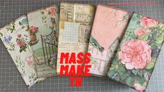 Note Memo, Craft Packaging, Notebooks, Journals, Journal Covers, Travelers Notebook, Junk Journal, Invitation Cards, Paper Crafts