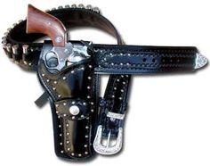 Black Hills Leather - Only the best custom gun leather western cowboy police holsters rigs