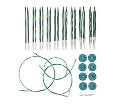 Knit Picks Options Interchangeable Caspian Circular Knitting Needle Set ** Check out this great product.