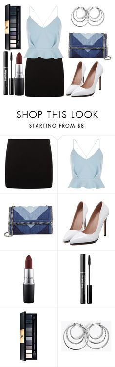 """Businesswoman set"" by lululafitte on Polyvore featuring moda, River Island, STELLA McCARTNEY y MAC Cosmetics"