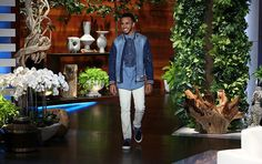 #LewisHamilton #Ports1961Menswear #Denim #EllenShow
