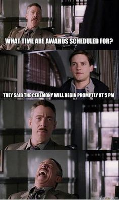 haha that's a good one! I stayed at feis until 1am waiting for awards once..... No joke :P