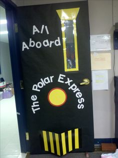 Polar Express Day Door