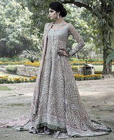 D4485 Elan Khadijah Shah Bridal Wear Collection 2013 Sunnyvale CA, Latest Elan Bridal Outfits Sunnyvale CA Bridal Wear