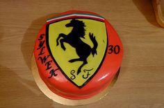 Ferrari cake :)