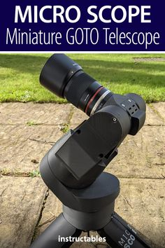 Micro Scope is a miniature GOTO telescope that uses a Raspberry Pi 4B and HQ camera. #Instructables #photography #backyard #astronomy #Fusion360 Fusion 360, Mac Address, 3d Printer Projects, Stepper Motor, Our Solar System, Photography Projects, Miniture Things, Photo Tips, Telescope