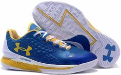 Under Armour Ua Curry 1 One Low Blue White Women Shoes