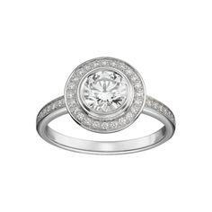Modèle : Cartier d'amour pavé Platine et diamants