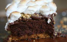 Brownies estilo S'more, un postre diferente pero delicioso
