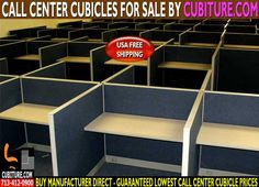 Call Center Cubicles For Sale With Manufacturer direct prices & free office layout design drawings with every quote. FREE Quote Call 713-412-0900 Houston TX