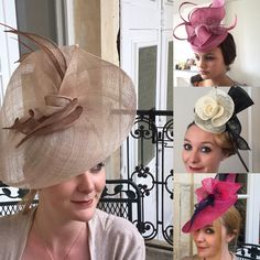 Millinery Workshops by Tracy Chaplin. #students #hats #millinery