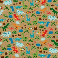Echo Park > Dino Friends > Dinosaur Safari Paper - Dino Friends - Echo Park : A Cherry On Top