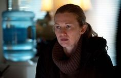 Strangely fascinating. Mireille Enos