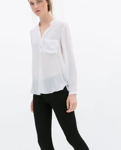 1.000,- Image 1 of LONG SLEEVE BLOUSE from Zara