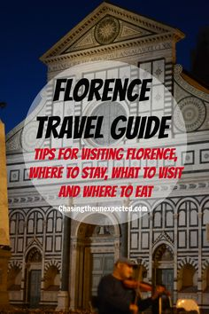 Top things to do in Florence, Italy. Things to do in Florence, birthplace of Renaissance Santa Maria del Fiore Cathedral, Dome, and Crypt The Baptistery of St. John (Battistero di San Giovanni) Giotto's Bell Tower (Campanile di Giotto) Museum of Opera of Santa Maria of Fiore Basilica Di San Lorenzo Basilica of Santa Maria Novella