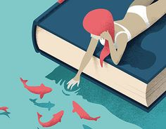 Another illustration dedicated to bookworms
