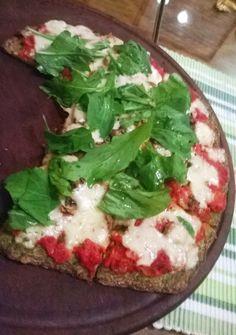 Mundo de Cocina: Pizza con masa de brócoli