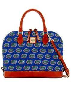 Dooney   Bourke Florida Gators Zip Zip Satchel - Blue Satchel Purse 40c8b073d