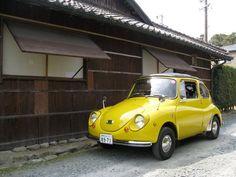 SUBARU 360 ( Yellow Ladybird )