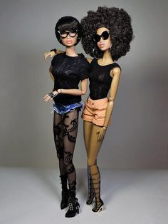 Fly Black Barbies