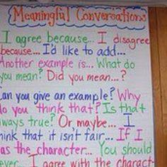 Good Conversations anchor chart