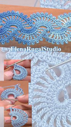 In this video you can see beautifully shaped flat crochet tape. Crochet tape tutorial consist of 2 parts. This crochet lace pattern you can use as a scarf, b. Crochet Edging Patterns, Crochet Lace Edging, Cotton Crochet, Crochet Mandala, Crochet Afghans, Crochet Blankets, Crochet Borders, Crochet Squares, Diy Crochet Flowers Tutorial