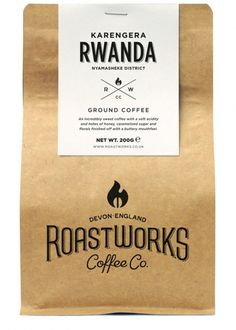 Karengera Rwanda Ground Coffee 200g - Food & Wine