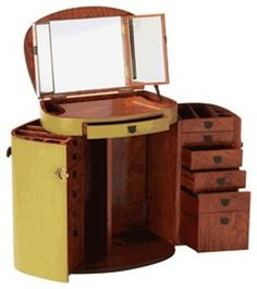 Jade Marie Galante Make Up Trunk eclectic dressers chests and bedroom armoires
