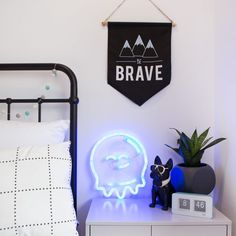 Neon Republic Australia - Ready-to-buy & custom LED neon signage for purchase & hire. Neon Signs Home, Signage, Aesthetics, Australia, Awesome, Home Decor, Environment, Bedroom, Bedside Desk