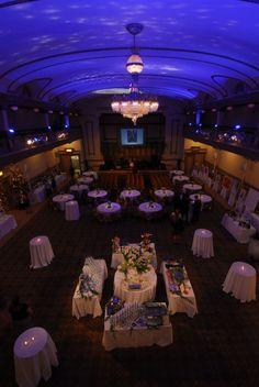 The Virginia Ballroom at the John Marshall Ballrooms in Richmond, VA