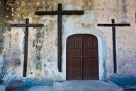 Crosses at the door