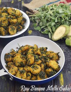 Many people would like to find out about indian cooking butter. Well that is what our web site deals with. So click through and look at how we can help you. Indian Vegetarian Dishes, Indian Veg Recipes, Indian Dishes, Vegetarian Recipes, Cooking Recipes, Healthy Recipes, Banana Curry, Raw Banana, Methi Recipes
