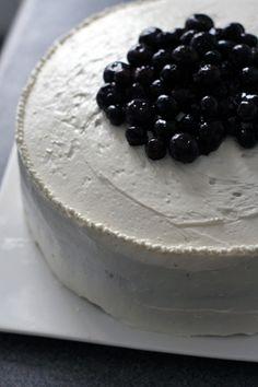 blueberry lemon layer cake