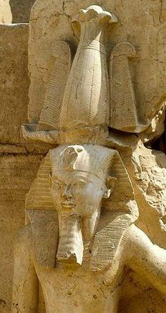Nesi (Pharaoh) Amenhotep II (Akheperure), 18th Dynasty, New Kingdom. Karnak  Egypt