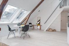light filled attic