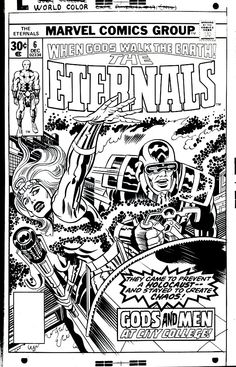 jack kirby - gods and men at city college!