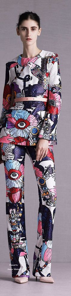 www.2locos.com  Mary Katrantzou Collection Resort 2015