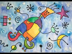 Joan Miro, Art For Kids, Art Projects, Arts And Crafts, Snoopy, Symbols, Peace, Education, Youtube