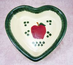 Vintage Heart Shaped Serving Dish by RichardsRarityRealm on Etsy, $26.00