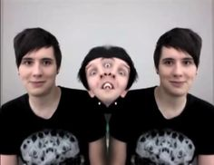 Dan Howell and Phil Lester / danisnotonfire and AmazingPhil