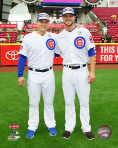 Anthony Rizzo Kris Bryant Chicago Cubs 2015 MLB All Star Game ...
