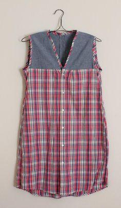 Lula Louise: Refashion – DIY Men's Shirt to Casual Dress