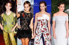 See Emma Watson's Stylish Transformation from Little Lady to Fashion Maven