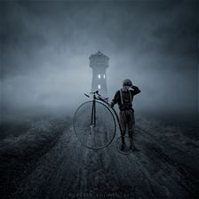 lost road by Leszek Bujnowski in Digital Manipulation Photography