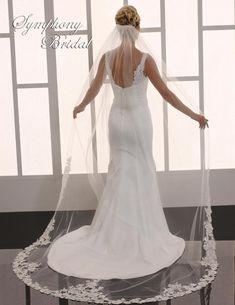 Affordable Elegance Bridal - Lace Cathedral Length Wedding Veil Symphony Bridal 6751VL, $449.49 (http://www.affordableelegancebridal.com/lace-cathedral-length-wedding-veil-symphony-bridal-6751vl/)