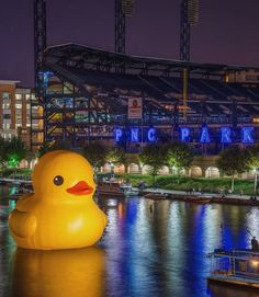 Pittsburgh, Pennsylvania - The Duck with PNC Park in the background